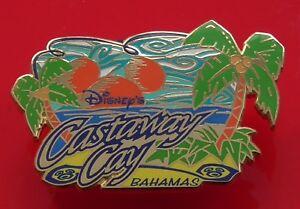 Walt-Disney-World-Attractions-Enamel-Pin-Badge-Castaway-Cay-Bahamas-Tropical