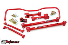 UMI Performance 68-72 GM A-BodyTubular Rear Lower & Upper Control Arms Kit RED