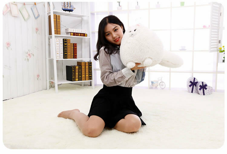 Kawaii Big Cat Fat Cat Plush Soft Toys Doll Stuffed Animals Pillow Birthday Gift