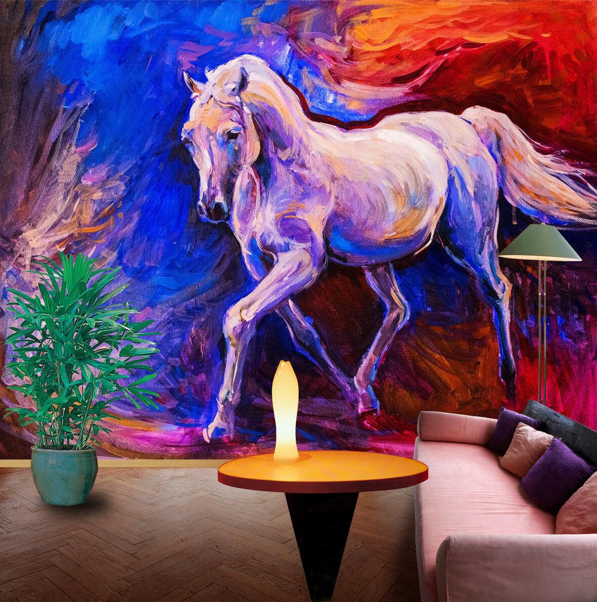 3D Painting Horse 1050 WallPaper Murals Wall Print Decal Wall Deco AJ WALLPAPER