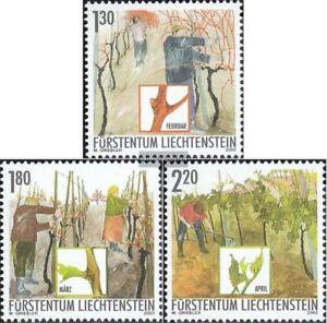 Liechtenstein-1311-1313-kompl-Ausg-gestempelt-2003-Winzer