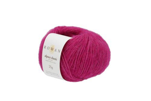 Luxurious Double Knitting yarn NEW Rowan Alpaca Classic DK