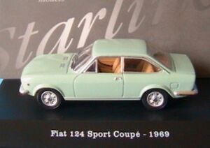 FIAT-124-SPORT-COUPE-1969-LIGHT-GREEN-CHIARO-STARLINE-510844-1-43-VERDE-GRUN