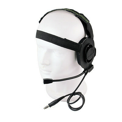 Z-Tactical Bowman Elite II Headset Green Color Z Tactical HD-01 Black Hi-quality