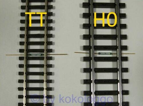 S280-10 pièces Mini reedkontakt 2mm x 10mm reed contact miniature commutateur à lames