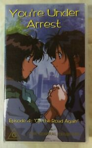 You-039-re-Under-Arrest-Volume-4-VHS-1994-Anime-OVA-Kazuhiro-Furuhashi-Madman