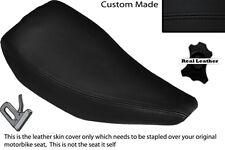 Negro Stitch personalizado se adapta a Honda Tlr 200 Trial Bike único cubierta de asiento