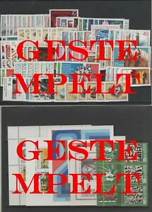 Germany-GDR-DDR-R-d-a-Vintage-Yearset-1974-Timbres-Used-Complet-Complet