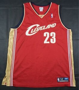 Image is loading Rare-Vintage-REEBOK-LeBron-James-Cleveland-Cavaliers -Authentic- a66e42a56