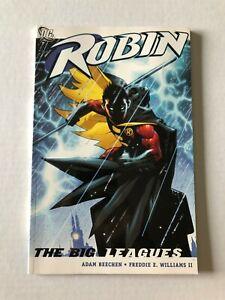Robin-The-Big-Leagues-Rare-OOP-Paperback-TPB-Graphic-Novel-Beechen-DC-Comic-2008