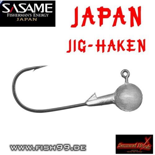 SASAME JAPAN Jig-Haken Pack 5//0   17g   10 Stück