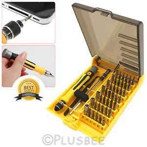 45pc-in-1-Precision-Hex-Torx-Star-Screwdriver-Set-amp-Bits-Mini-Repair-Tool-Kit