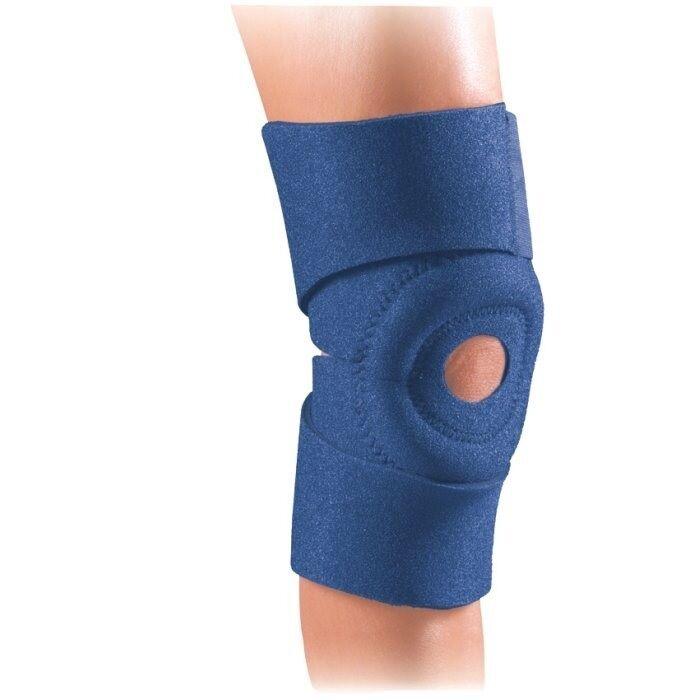 EZ-ON Knee Wrap Thermal Neoprene Tendonitis Safe T Sport FLA Orthopedics