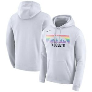 Nike 2019 Denver Nuggets City Edition Essential Logo Pullover Hoodie ... 6a6fb4e02