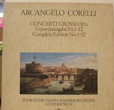 ARCANGELO CORELLI CONCERTI GROSSI GÜNTHER WICH 3LP-BOX  (d650)