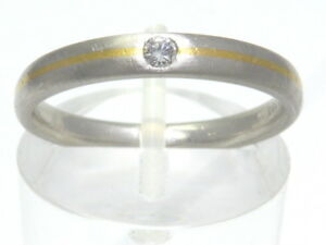Ring-Bague-Platinring-950-PLATIN-GOLD-Brillant-Diamant-diamond-platine-Art-Deco