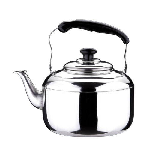 Stainless Steel Hot Water Filter Kettle Pot With Whistle Sound Tea Kettle 5L