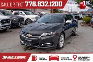 2019 Chevrolet Impala Premier | Leather, 3.6L V6, 8' Touchscreen, Low KMs