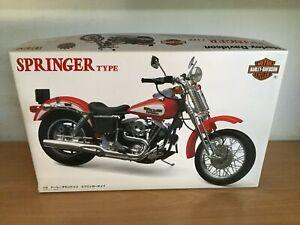 Imai Kit Di Montaggio 1:12 Harley Davidson Springer Type Mib, 1996