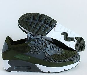 nike air max 90 flyknit black and green