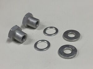 1pr-Bendix-or-Morrow-Whizzer-Rear-Stand-Axle-Nuts-and-Washers