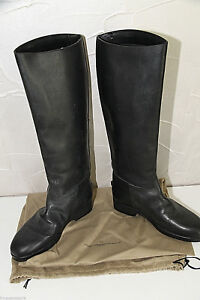 Riding-Boots-Black-Leather-golden-goose-Size-36-UK-3-5-New-Box-Value