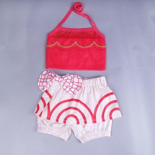 Girls Toddlers Moana Swimsuit Swimwear 2pc Set Bathing suit Bikini