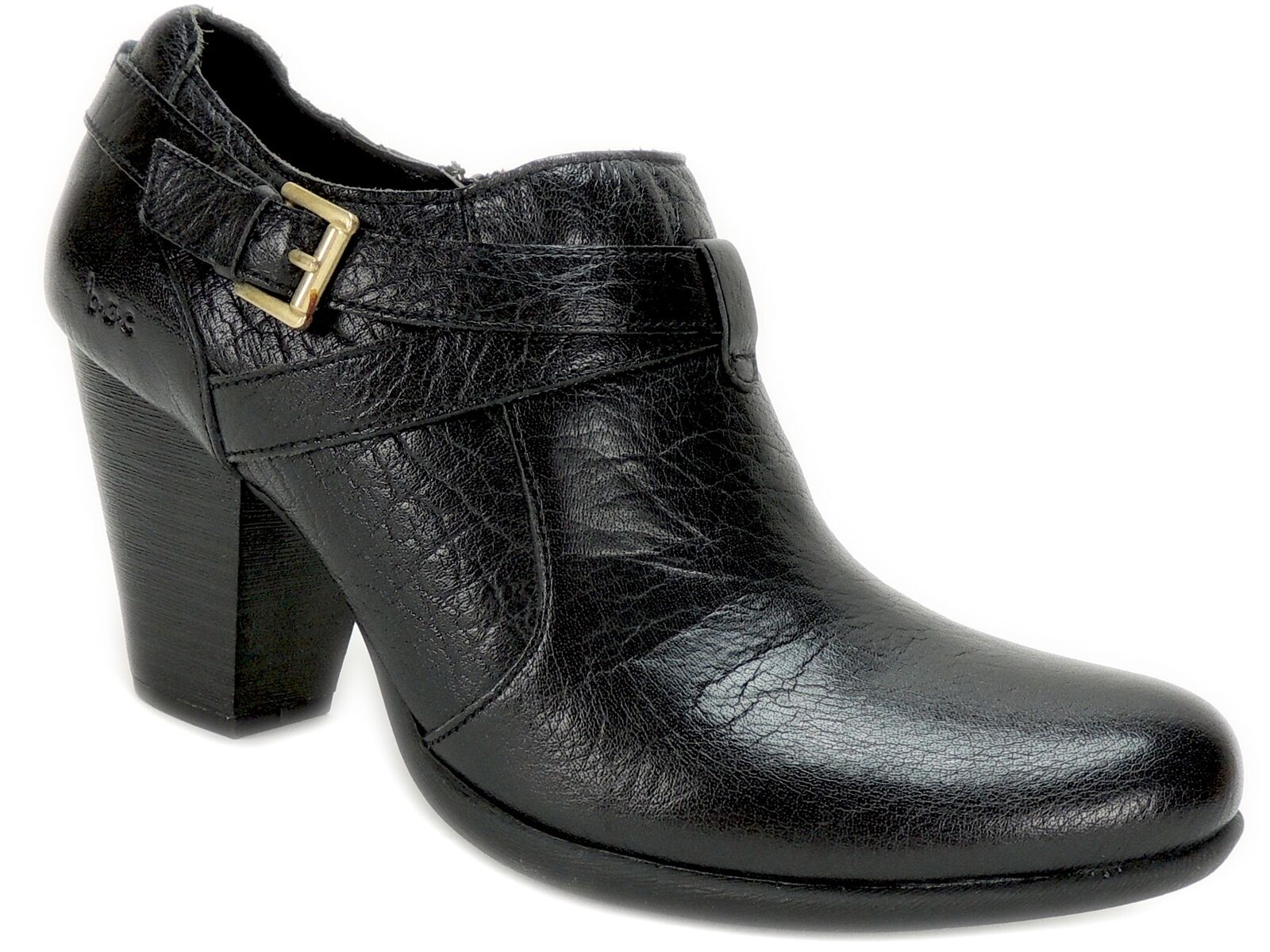 B.o.c. Women's Moore Booties Black Leather Size 6.5 M