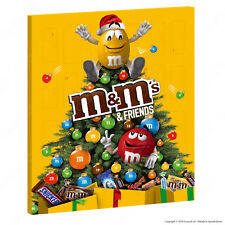 M&M's Friends Calendario dell'Avvento Bounty Snickers Milky Way Twix Mars 361g