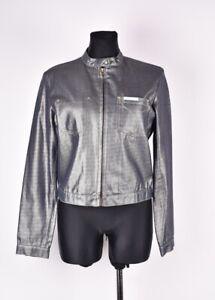 Calvin-Klein-Jeans-Vintage-Silber-Damen-JACKE