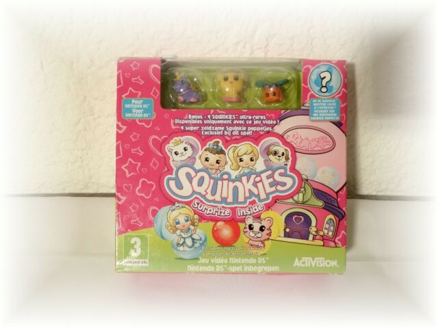Coffret Jeu Nintendo DS Squinkies + 4 Figurines Squinkies