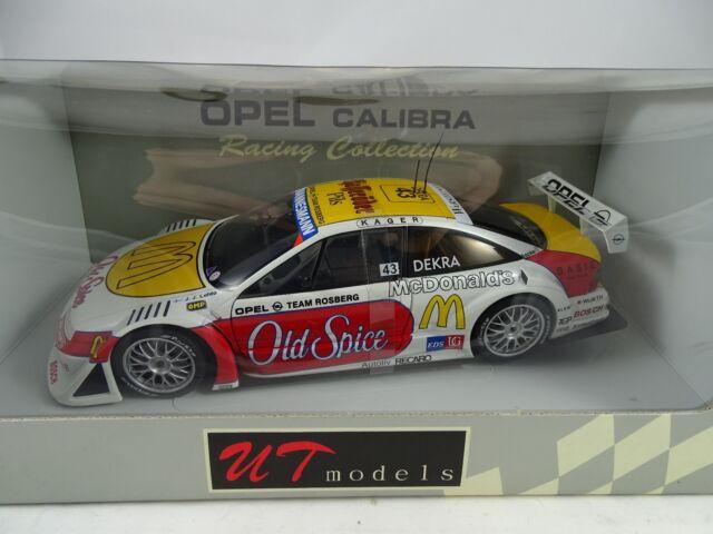 1:18 Autoart / Ut #39677 Opel Calibra Rosberg 1996 J. J. Lehto #43 - Rare §