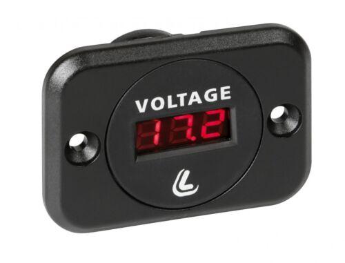 universal Lampa digitaler Batterie Voltmeter 6-30 Volt