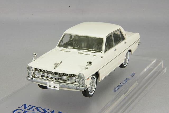 ENIF ENIF0035 1 43 Nissan Gloria (PA30) Super DX 1968 Gloria White KIDBOX