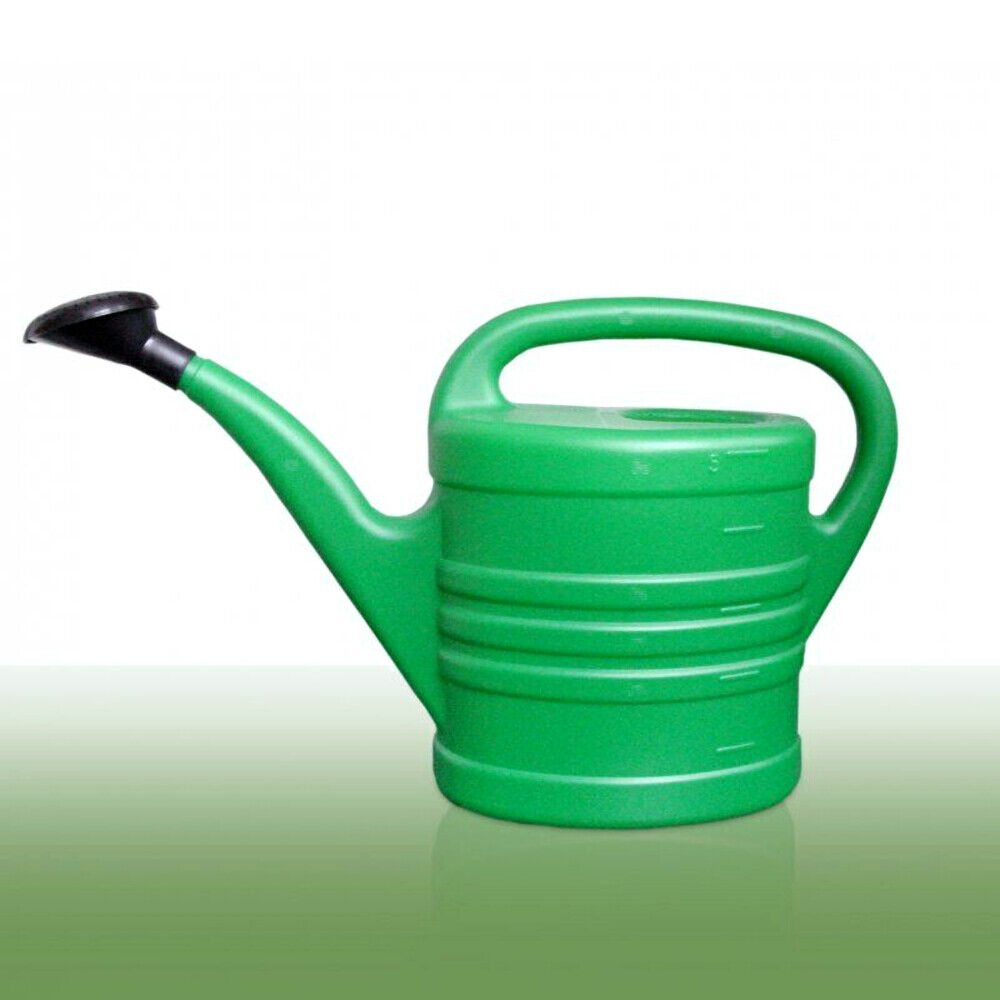 Garden Watering Can Green Wash Watering Cans Rose Storage Nozzle - 5 Litres