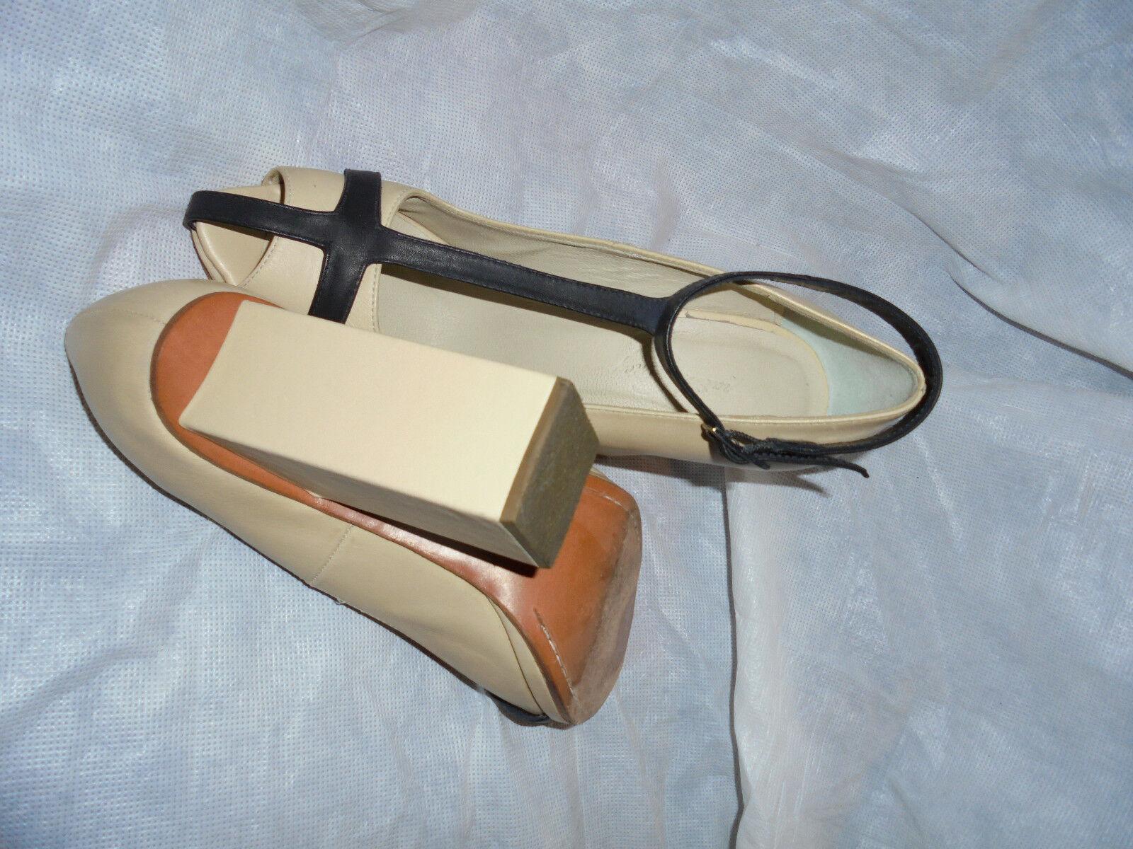 Rachel comey Femme Beige Noir Cuir Sandales Taille UK 5.5 5.5 5.5 EU 38.5 US 8.5 très bon état 8398d4