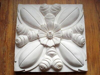 Der GüNstigste Preis Stuckbild - Motivplatte Schmuckplatte Aus Stuck - Art Deco - Jugendstil - Mix