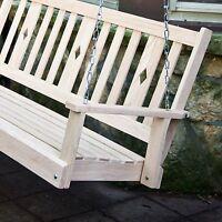 Beecham Swing Co. Oak Diamondback Porch Swing