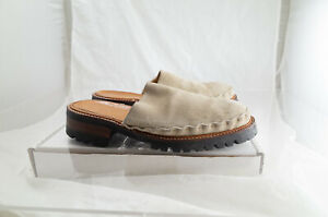 Matsuda Suede Slip On Shoes With Vibram Soles