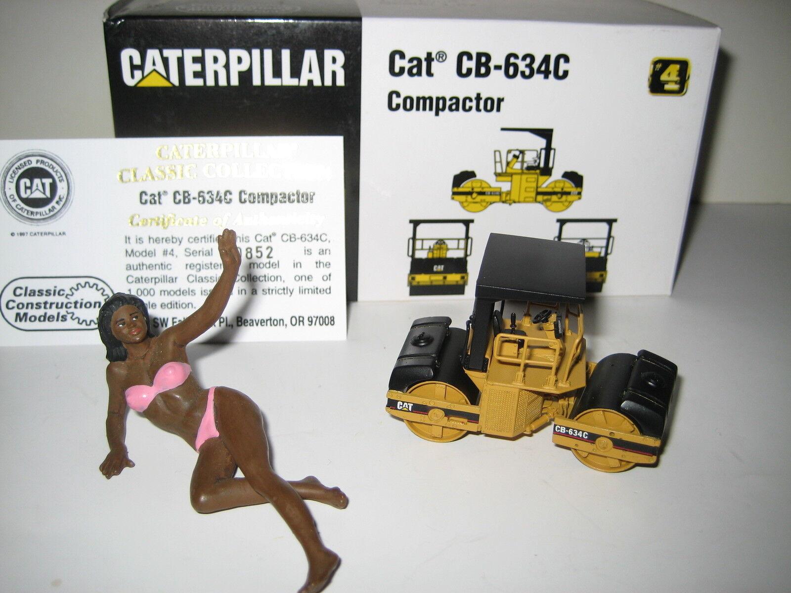 CATERPILLAR CB-634C WALZE  852 852 852 CCM 1 87 OVP LIMITIERTE AUFLAGE  | Fein Verarbeitet  7e802d