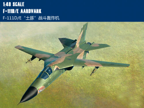 Hobby Boss 80350 1/48 F-111D/E Cavy Fighter-bomber Military Aircraft Model Kit
