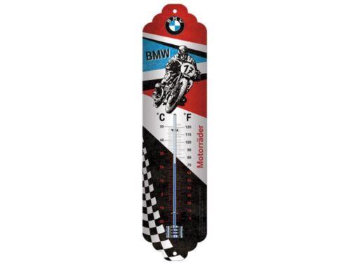 BMW MOTO Thermomètre en tôle métal tôle bouclier service biker deco Motorcycle