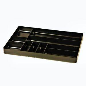 Ernst-5011-Ten-Compartment-Organizer-Tray-Black