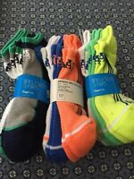2 Gap Kids Athletic Ultra Low Socks-l (shoes Size 3-6)-dry Wicking