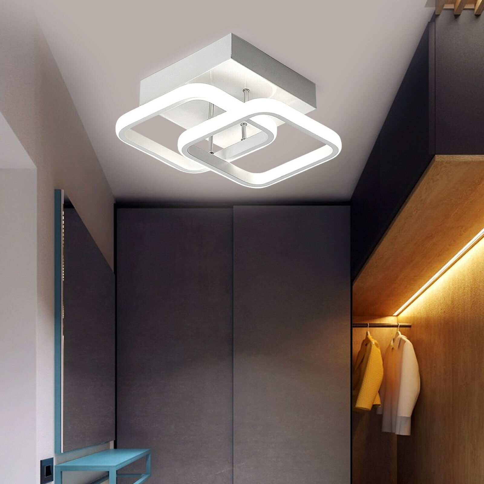 Modern Retro Led Cement Chandelier Lamp Bedroom Bedside Concrete Pendant Lamp For Sale Online Ebay