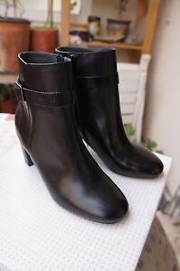 Détails sur Jonak Bottines boots femme marron taille 36 EU