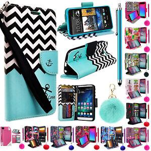 For T Mobile Revvl Plus 6 Wallet Case Fold Kick Stand Pouch Purse