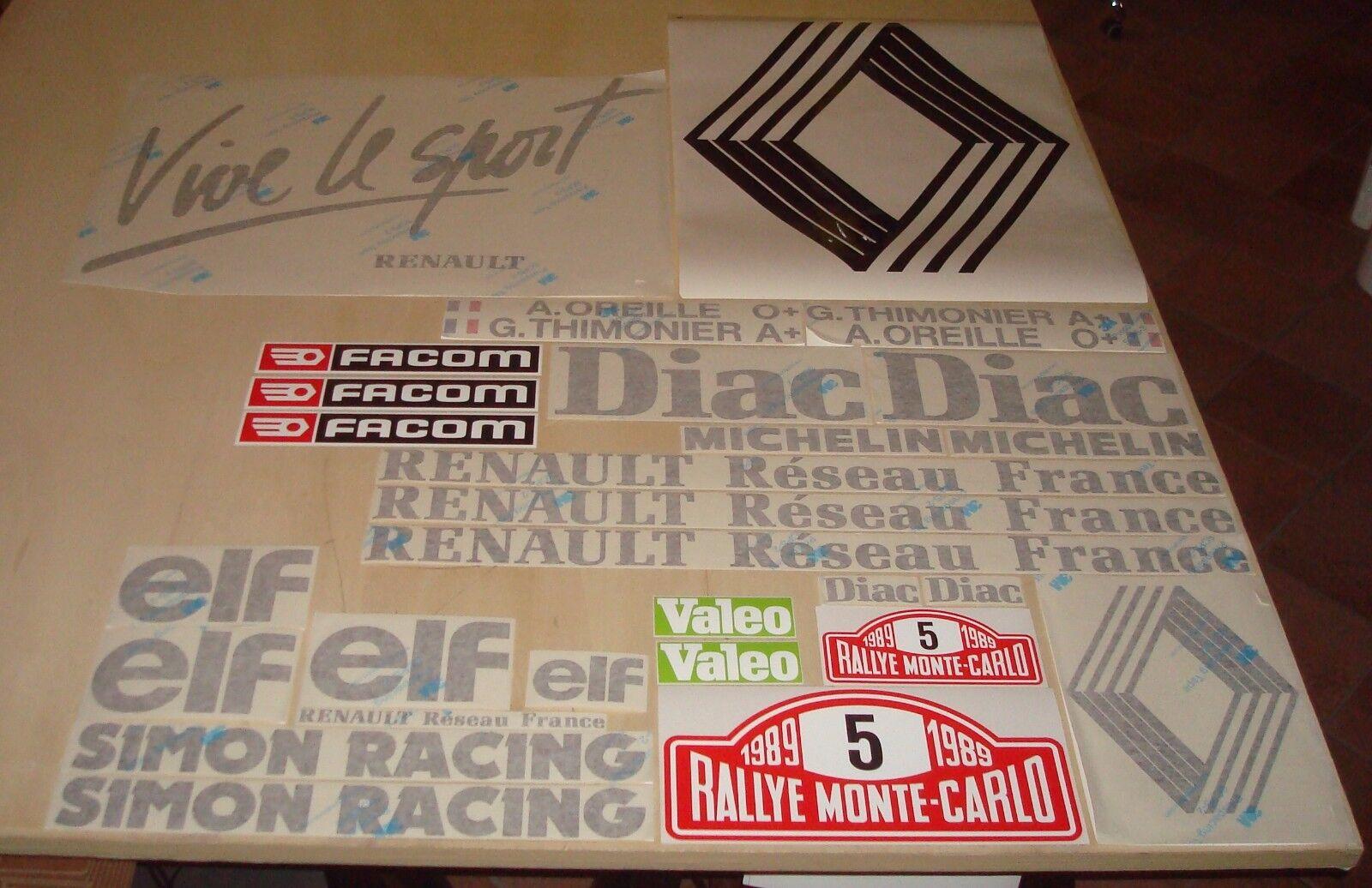 Youngtimersclassic Adesivo ELF Prestigrade per tappo olio Renault 5 GT Turbo