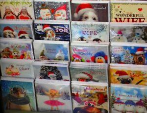 AUCTION-BARGAIN-SUPERB-CHRISTMAS-CARD-MIX-X-180-EXCELLENT-MIX-SRP-350