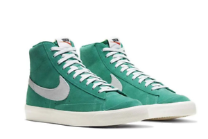 Details about Nike Blazer Mid 7 Men's Women's Casual Shoes High Top Green  Sneakers CI1172-300